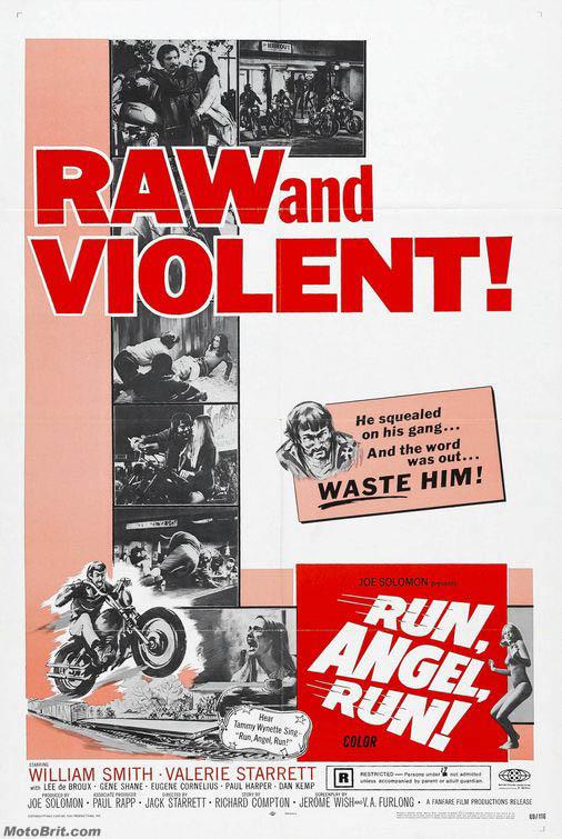 Run, Angel, Run Movie Poster