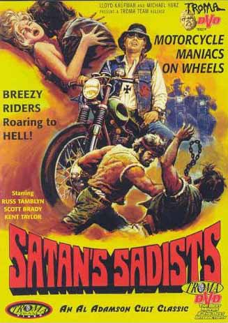 Satan's Sadists Movie Poster