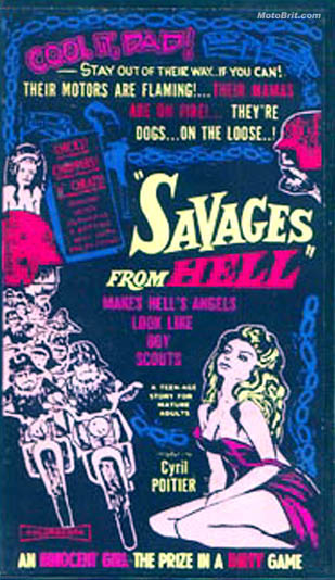 Savages From Hell Movie Poster