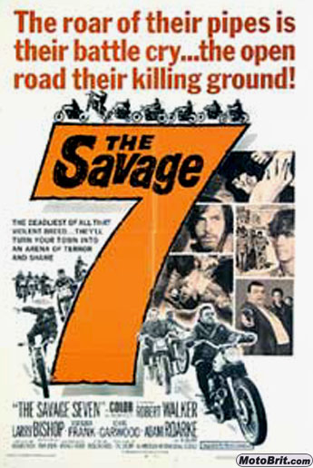 The Savage Seven Movie Poster