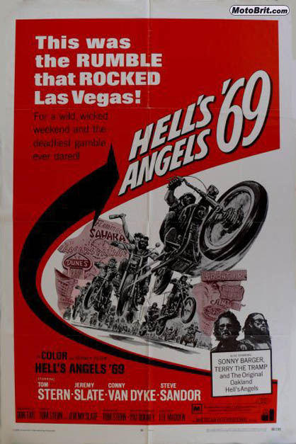 Hell's Angels '69 Movie Poster