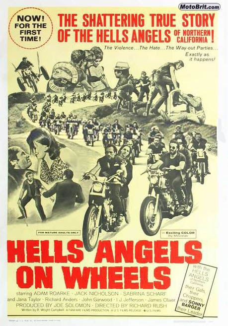 Hell's Angels on Wheels Movie Poster