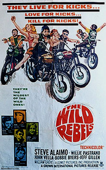 The Wild Rebels Movie Poster